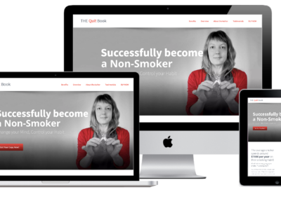 The Quit Book Website Design