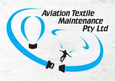 Aviation Textile Maintenance Logo Design