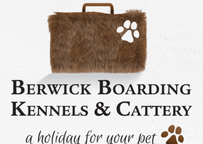 Berwick Boarding Kennels and Cattery Logo Design
