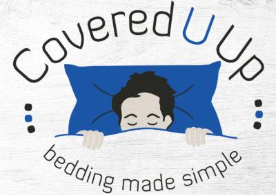 Covered U Up Logo Design