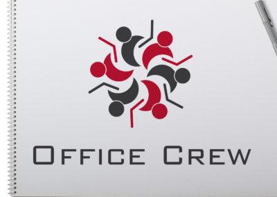 Office Crew Logo Design