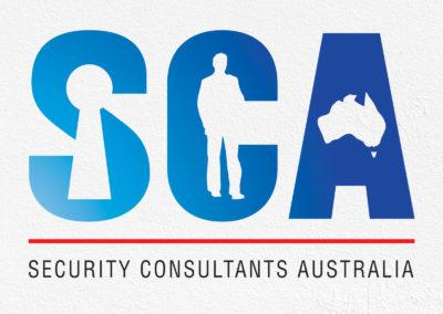 Security Consultants Australia Logo Design