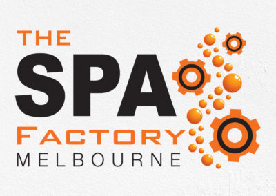 The Spa Factory Logo Design