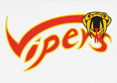Vipers Logo Design
